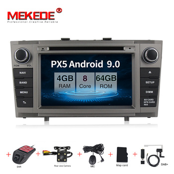 Android 9.0 Car DVD Stereo Multimedia Headunit For Toyota T27 Avensis 2009-2014 Auto PC Radio GPS Navigation Video Audio 2G RAM