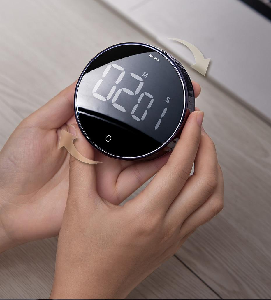 Magnetic Digital Stopwatch Timer