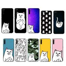 Ripndip Kat Fashion Case Coque Fundas Etui Voor Xiaomi Note Max Mi 3 7 8 9se Redmi 7 7a 8 8T 10 Pro Lite Gevallen Cover(China)