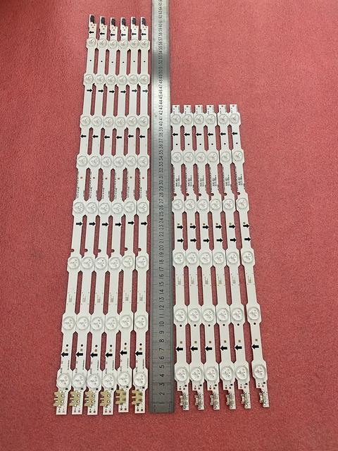 12 PCS LED backlight strip for Samsung UE50HU6900F UN50HU6950 UE50HU7000 UA50HU7000 UE50HU6900S UN50HU6900F BN96 32179A 32178A