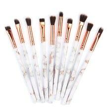 10 pièces pinceau de maquillage multifonctionnel correcteur fard à paupières ensemble de pinceaux outil un ensemble de pinceaux pour maquilleur beili pinceaux de maquillage