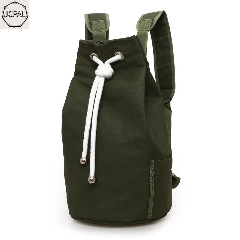 2019 new canvas bag men Large-capacity sports backpack  travel backpack Young male casual school bag basketball bag