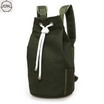 2019 new canvas bag men Large-capacity sports backpack  travel backpack Young male casual school bag basketball bag - DISCOUNT ITEM  39% OFF All Category