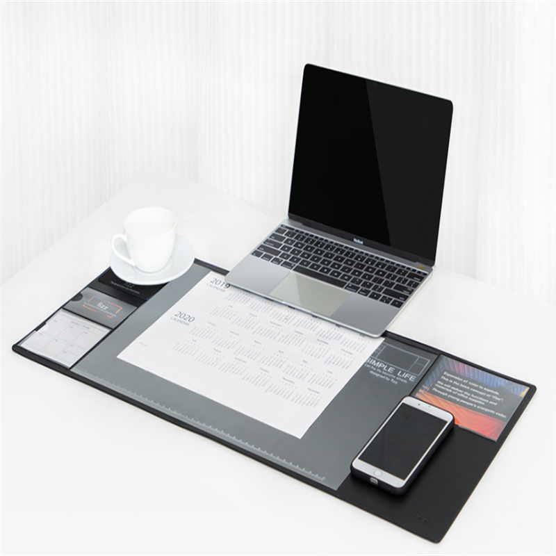 Xiaomi Fizz Multifunctional Storage Desk Pad Computer Mat Documents Notes Business Card Storage Mouse Pad For Offices
