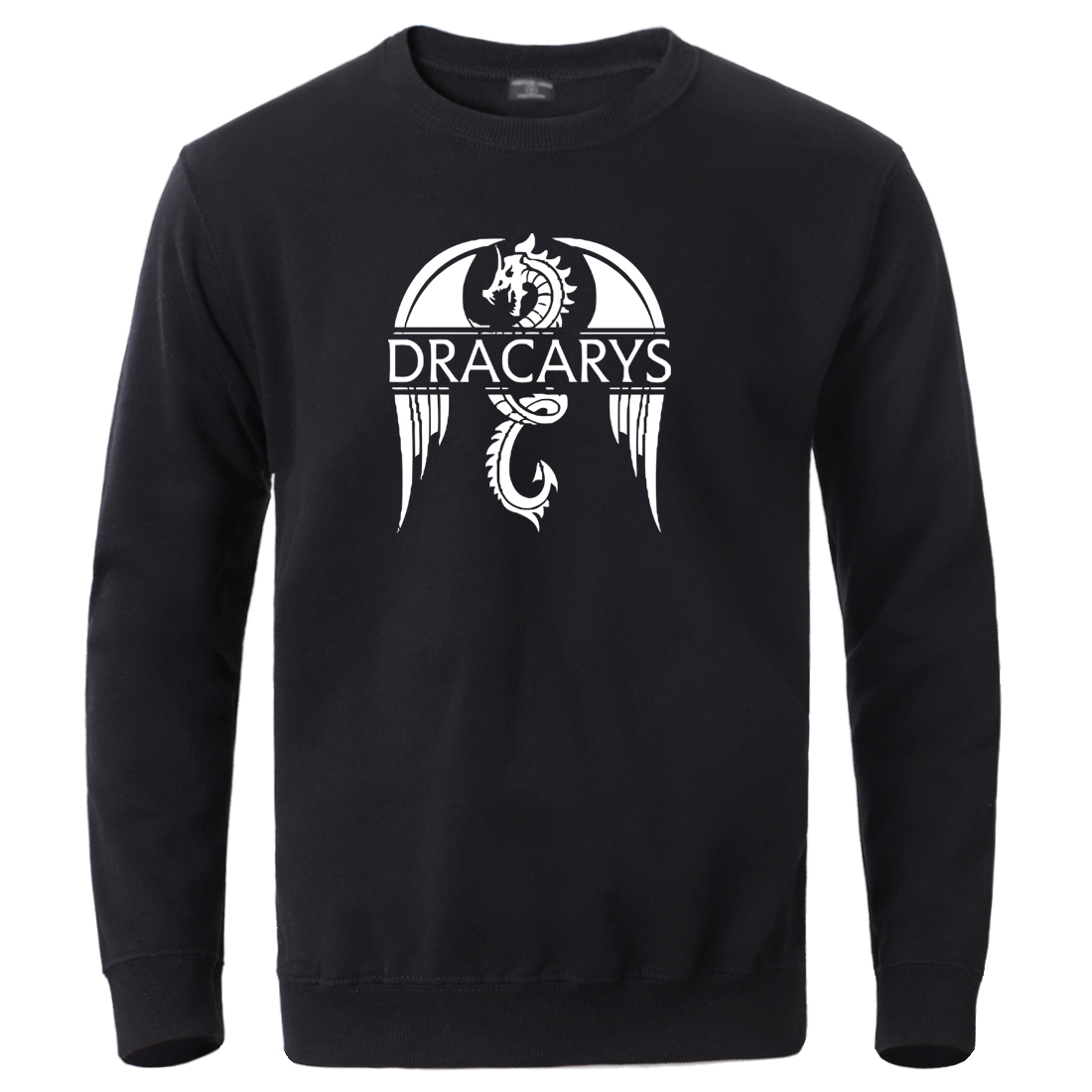 Dracarys Dragon Pullover Mens Winter Game Of Thrones Sweatshirts Hoodies 2020 Autumn Winter Long Sleeve Tracksuits Sportswear