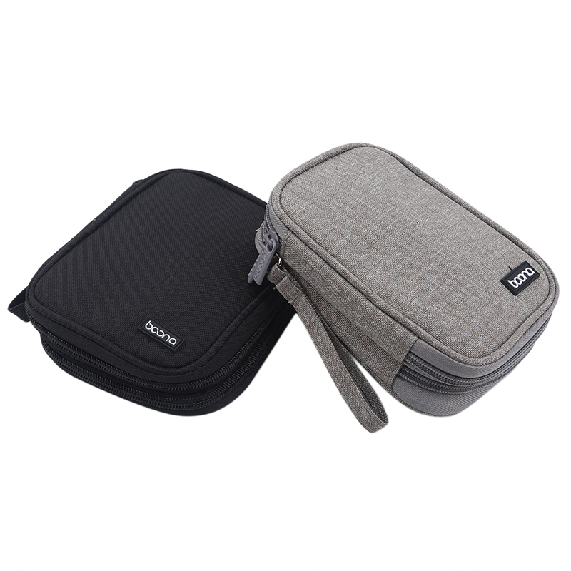 Hot Travel External Hard Drive Case, Power Bank Case Storage Carrying Bag For IPhone Power Adapter Charger Gadgets Cable Bag