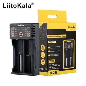 Image 4 - LiitoKala Lii 100 lii 202 lii 402 1.2V 3.7V 3.2V 3.85V 18650 18350 26650 10440 14500 16340 NiMH lithium battery smart charger