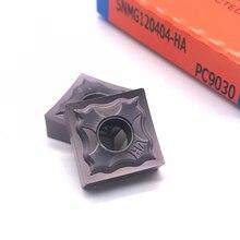 SNMG120404 Herramienta de torneado externo, alta calidad, HA PC9030 SNMG120408, 100%, inserción de carburo para acero inoxidable
