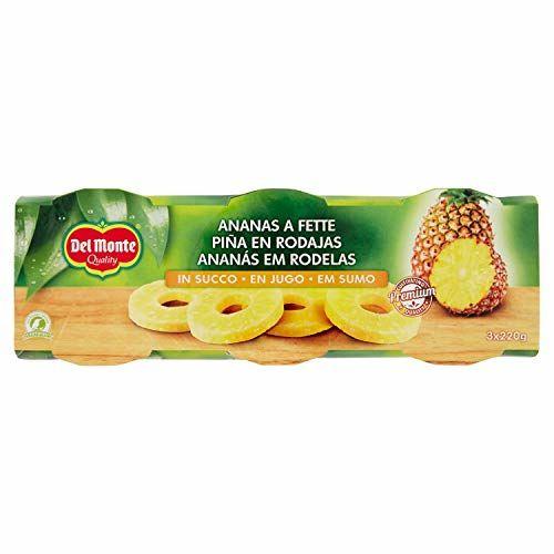 Del Monte Ananas Scheiben In Saft, 1er Pack (1 X 660 G)