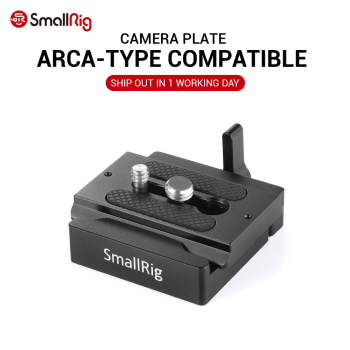 SmallRig DSLR Camera Plate Quick Release Clamp and Plate ( Arca-type Compatible) Camera Accessories Rig 2280 sirui va 5 fluid video head with arca swiss compatible quick release plate