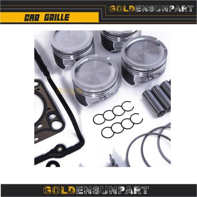 06B 107 065 N Engine Piston Gasket Seal Bearing Overhaul Kit For VW Jetta Passat Golf Audi A3 A4 A6 TT 1.8T AWP 058103383K 3