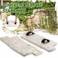 Moldes de poliuretano para concreto jardín casa decoración textura pared pisos moldes cemento yeso sellos modelo moldes de goma