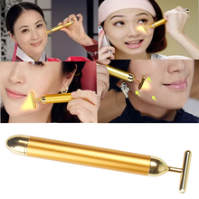 Free Shipping Face Facial Derma Skin Care Wrinkle Treatment Roller Massage Energy Beauty