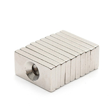 5/10/50pcs/lot Magnet 20x10x3 mm hole 4mm N35 Strong Square NdFeB Magnet 20*10*3 mm Neodymium Magnet 20mm x 10mm x 3mm-4mm 5pcs 60x20x10mm super strong neo neodymium magnet 60x20x10 ndfeb magnet 60 20 10mm 60mm x 20mm x 10mm magnets 60 20 10