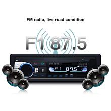 Autoradio stéréo 24V in-Dash 1 Din FM | Autoradio, Bluetooth MP3, entrée récepteur,