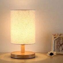 lámpara mesa madera RETRO VINTAGE