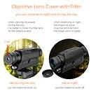 Svbone 5x32 Vision nocturne monoculaire numérique 0.3 mégapixels CMOS 1.5 écran LCD dispositif infrarouge chasse jumelles télescope - 5