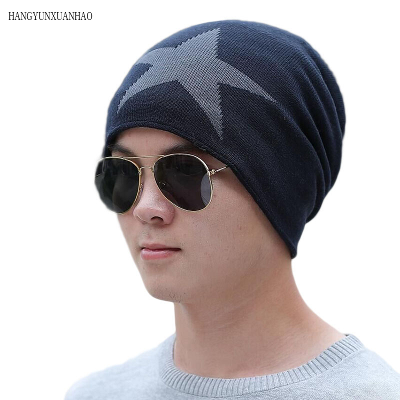 New Unisex Fleece Lined Beanie Hat Knit Wool Warm Winter Hat Thick Soft Stretch Hat For Men And Women Fashion Skullies amp Beanie in Men 39 s Skullies amp Beanies from Apparel Accessories