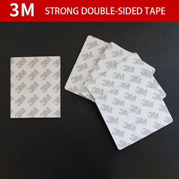 3M strong double-sided adhesive acrylic foam tape mounting white rectangle 2mm thick