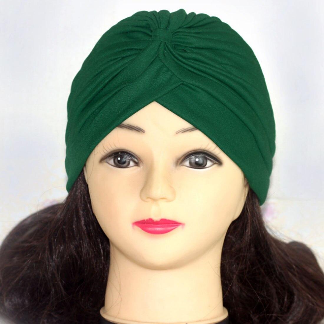 Хиджаб шарф тюрбан шапка s мусульманский головной платок Защита от солнца Кепка Женская хлопковая мусульманская многофункциональная тюрбан платок femme musulman - Цвет: 17
