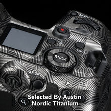 Prémio Decalque Da Pele Para a Câmera Canon EOS R5 Decalque Pele Casaco Envoltório Adesivo Cobrir Protector Anti-scratch