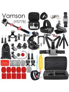 Case Gopro-Accessories-Set Selfie-Stick Vamson Go-Pro hero Eken Yi for EVA 4-Kit VS77