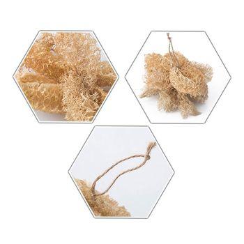 5Pcs/Set Natural Loofah Sponge Kitchen Cleaning Brush Dish Scrubber Washing Tool 5