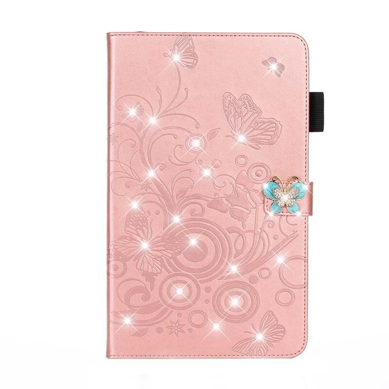case Blue Stand Flip PU Leather Capa Case For iPad 10 2 Case 2019 A2200 A2198 A2197 A2232