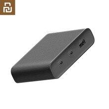 """מקורי Youpin שולחן העבודה מטען 65W 3 יציאת PD3.0 USB 2C1A עבור אנדרואיד iOS מתג פ""""ד 3.0 QC חכם פלט מקסימום סולו c1 65w c2 1"""
