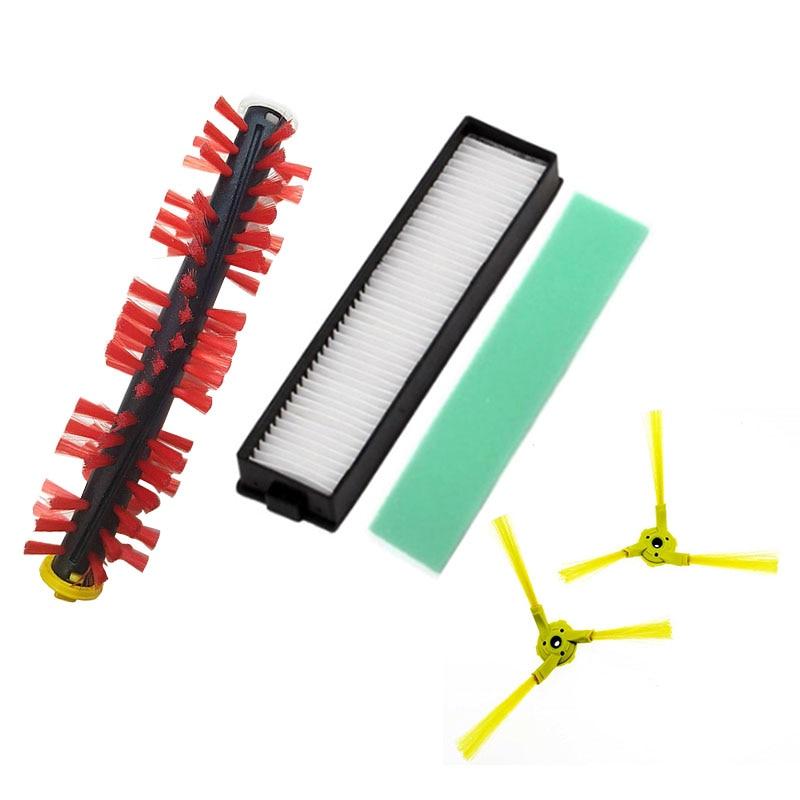 Filter Sponge Brush For  LG HomBot VR6270LVM VR65710 VR6260LVM Series Main brush side brush mop cloth kichen accessories limpeza