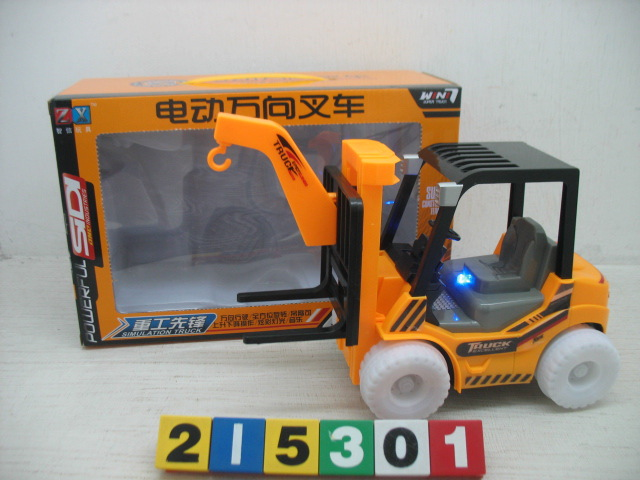 Hot Sales Tomonobu Hot Sales CHILDREN'S Toy Music Lights Universal Electric Engineering Car Forklift Model Batch