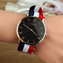 DW стильные модные часы мужские часы Топ кварцевые часы с черным циферблатом мужские нейлоновые спортивные часы relogio masculino
