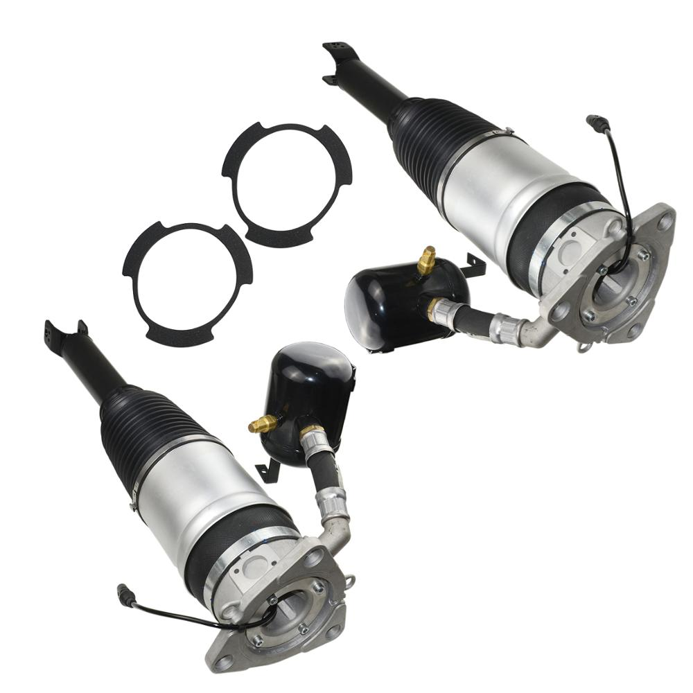 AP01 Pair Air Suspension Strut Shock Absorber Rear For <font><b>Audi</b></font> <font><b>A8</b></font> S8 <font><b>D3</b></font> <font><b>4E</b></font> 2002 2003 2004 2005 2006 2007 2008 2009 2010 image