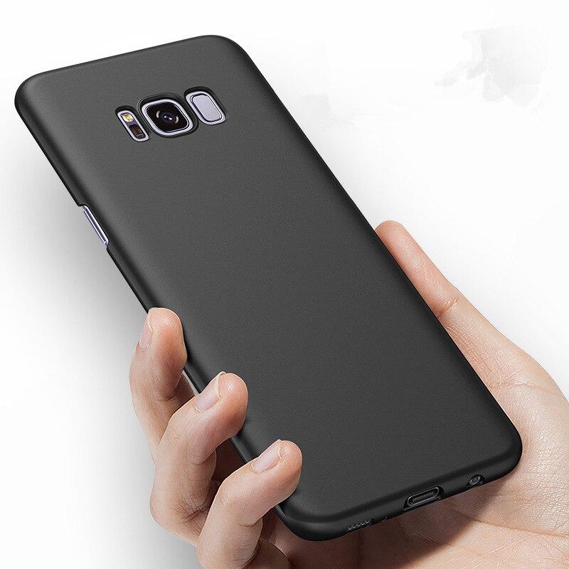 Samsung Galaxy S8 Fosco Sərt PC Tutqun örtüklü dəri qabığı - Cib telefonu aksesuarları və hissələri - Fotoqrafiya 4