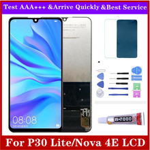 For Hua Wei P30 Lite LCD Display Touch Screen Digitizer Assembly Replacement Parts for Nova 4E MAR LX1M MAR LX2J LCD 6.15