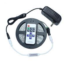 Tanbaby LED Strip light 5630 DC12V 5M 300led flexible 5730 bar light high brightness Non-waterproof indoor home  decoration