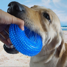 Dog Toys Squeaking Pet Toy Bite-Resistant Ball Large Barbed TRP Clean Tooth For Dogs