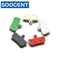 4 Pairs Resin Sintered Bicycle Brake Pads for Shimano XT m985 m987 m988 m785 Deore m615 SLX m666 m675 MTB Bike Disc Brake
