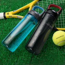 Large Capacity Plastic Water Bottle 700ml Bpa Free with Handle and Filter Leak Proof Outdoor Sports My Drink Custom Logo