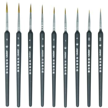 Hook Line Paint Brush Set Watercolor Acrylic Oil Painting Drawing Liner Pen