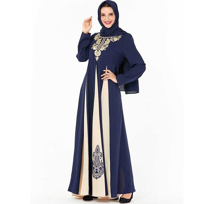 Dubai Arabic Abaya Turkish Hijab Muslim Dress Jilbab Kaftan Abayas For Women Omani Tesettur Elbise Baju Muslim Wanita Kleding