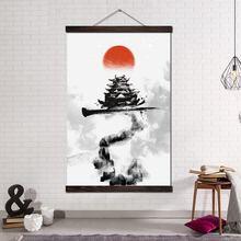 Настенная живопись на холсте плакаты и принты декоративные настенные