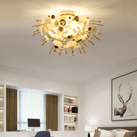 Luxury Ceiling lights Tapered Design Indoor Light Large Dignified Ceiling Lamp for Modern living room dining room staircase