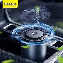 Baseus Auto Lufterfrischer Diffusor Metall Tasse Halter Auto Parfüm mit Aktivkohle Paste Für Auto Duft Luft Freshner