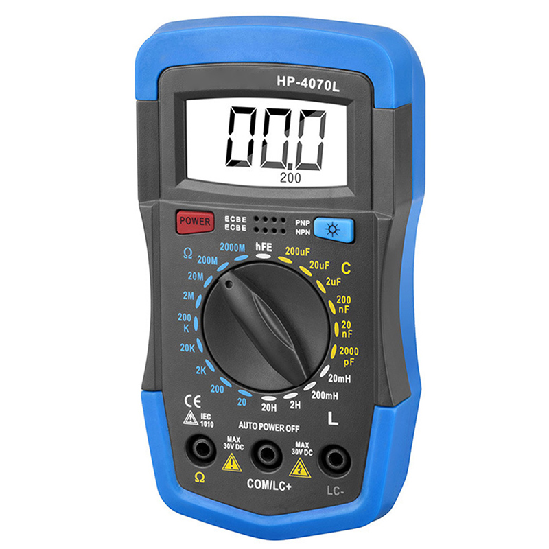 Newest RLC Meter Inductance Capacitance Resistance Multimeter Ohm Inductor Tester Digital Insulation Tester Mete