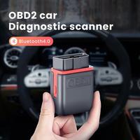 Geartronics elm327 v1.5 bluetooth 4.0 obd2 scanner elm 327 obd 2 ferramenta de diagnóstico do carro leitor obdii para ios android pc preto