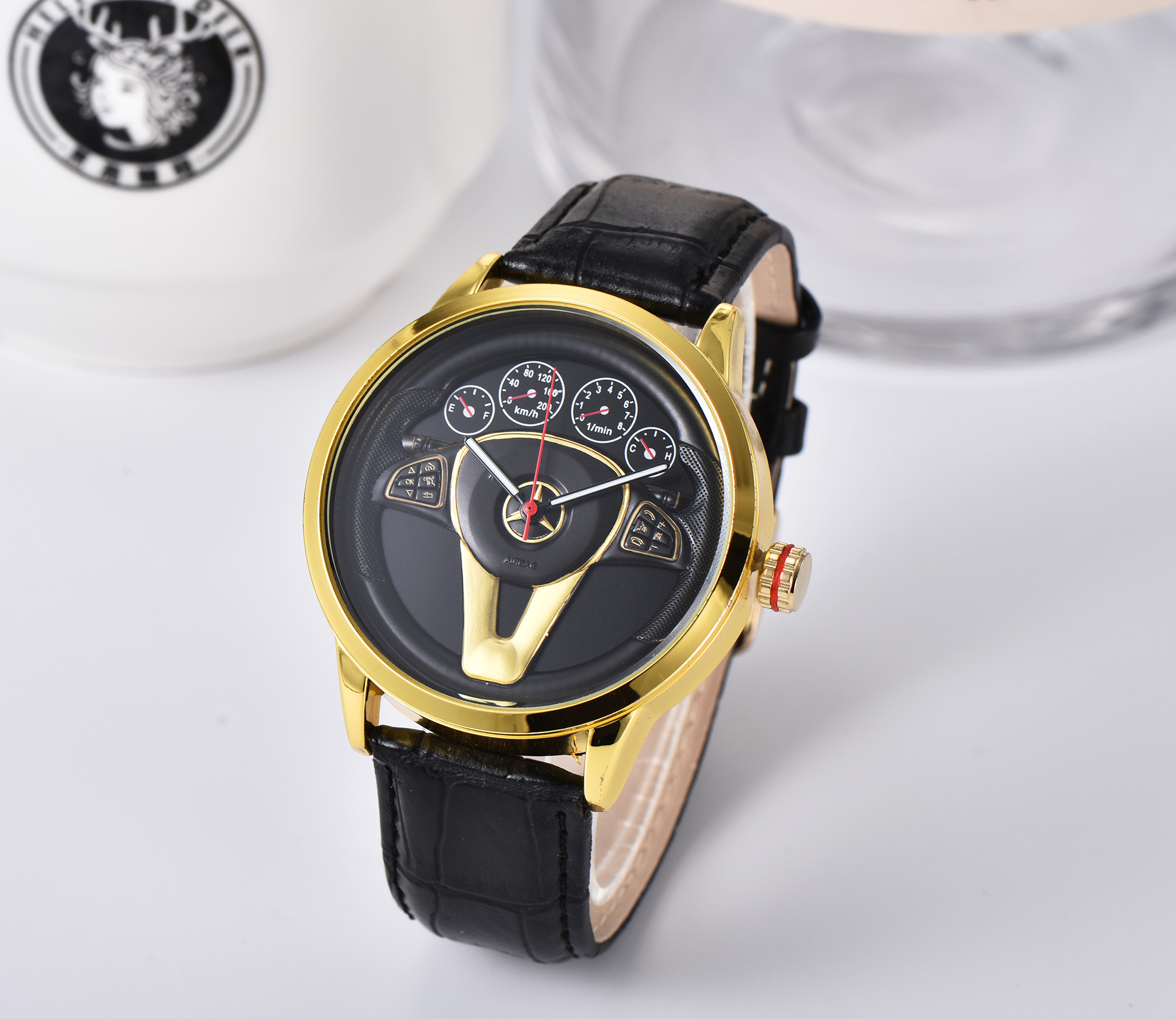 New 2021 top luxury business men's and women's watch Seiko production boss wearing casual steel belt quartz mechanical watch 1