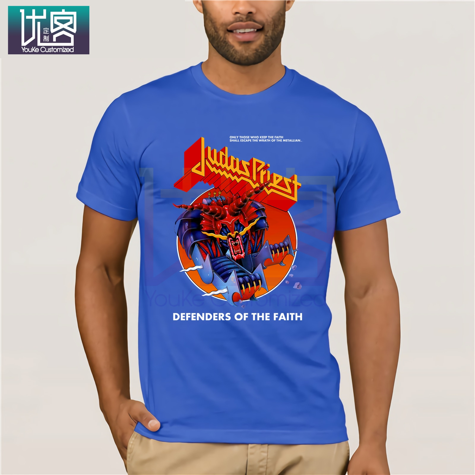Official Judas Priest Painkiller Unisex T-Shirt Defenders Of the Faith British S