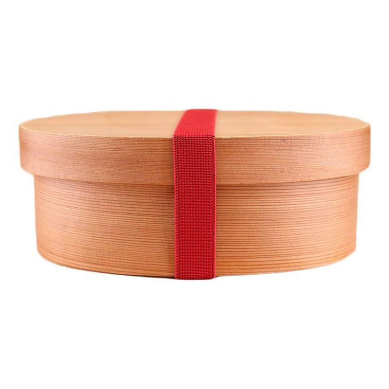 Top Wooden Lunch Box Bento Box with Internal Separator Cryptomeria Wood Food Container|Lunch Boxes| |  - title=