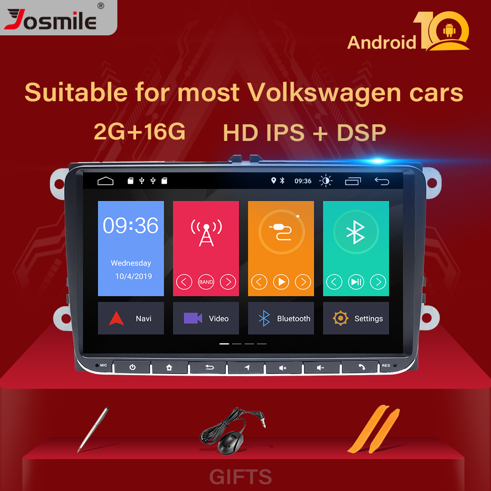 2 Din Android 9 Auto Radio Gps Navigatie Voor Vw Passat B6 Amarok Volkswagen Skoda Octavia 2 Superb Jetta T5 golf 5 6 Multimedia